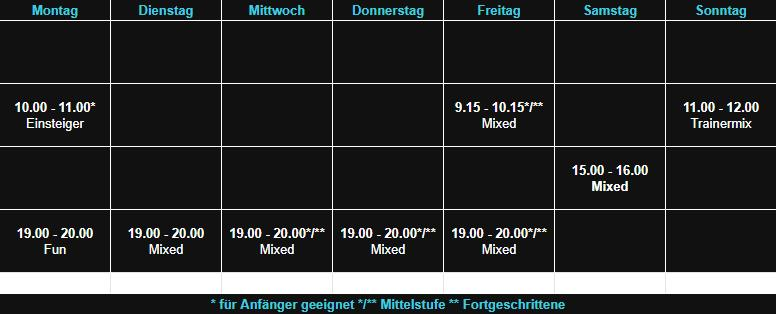Sepps Fitness Kursplan Hösbach Raum 3 03.10.19