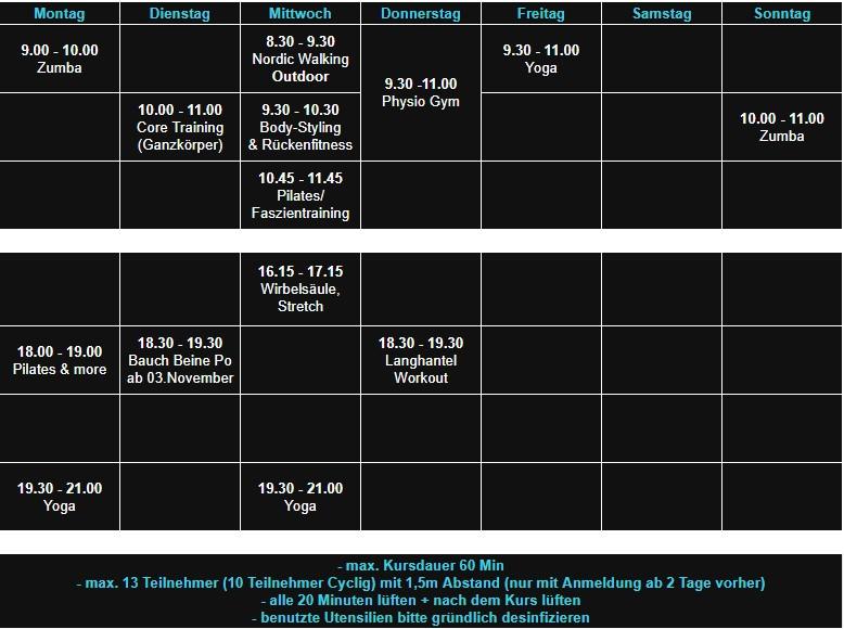 Aerobic Haibach 12.10.20