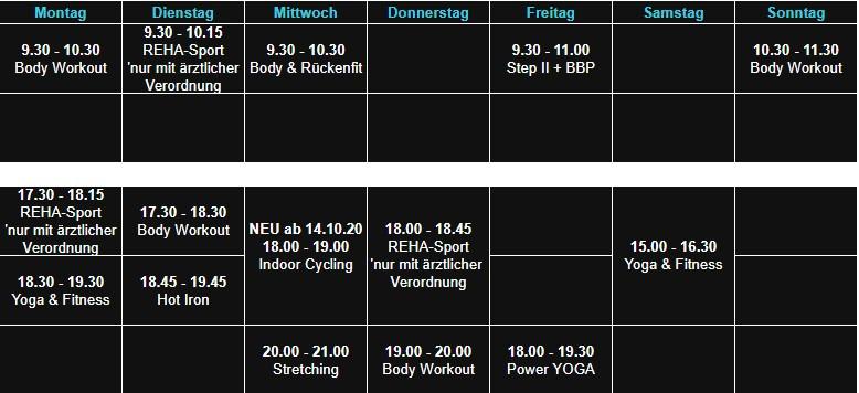 Sepps Fitness Kahl Aerobic 06.10.20